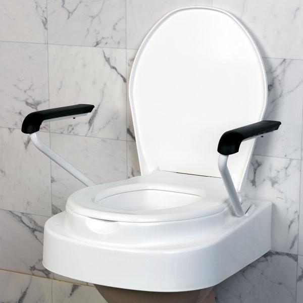 Wc Bril Verhoger.Toiletzitting Met Armleuningen